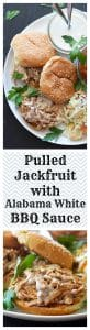 Pulled Jackfruit with Alabama White Barbecue White Sauce