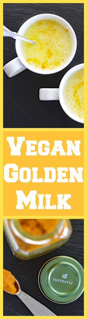 Vegan Golden Milk (Hot or Iced)
