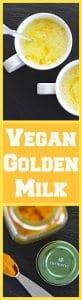 Vegan Golden Milk (Hot or Iced)
