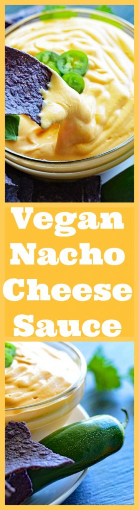 Vegan Nacho Cheese Sauce Long Pin