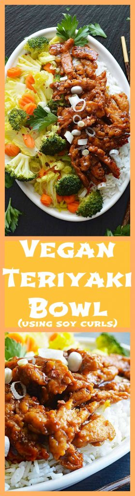 Easy Vegan Teriyaki Bowl