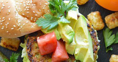 Vegan Golden Beet Burgers