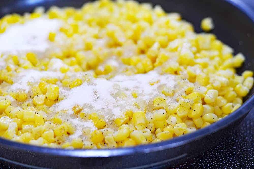 Easy Vegan Creamed Corn