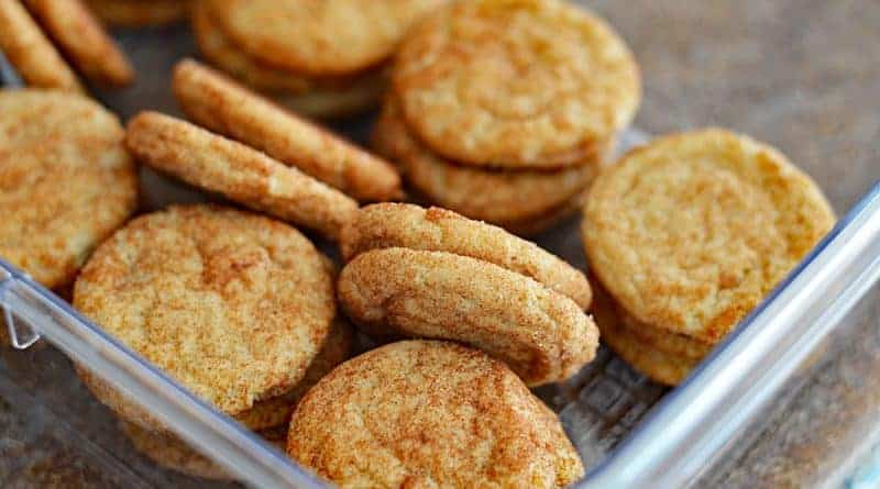 Soft and Chewy Vegan Snickerdoodle Cookies