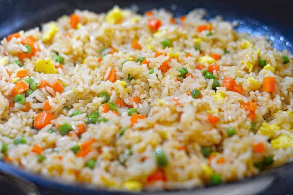 Better Than Panda Express Fried Rice Add Vegan Egg