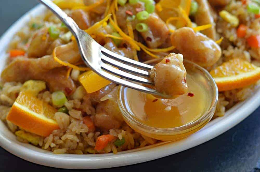 "Original Orange ""Chicken"" by Panda Express {Vegan Version}"