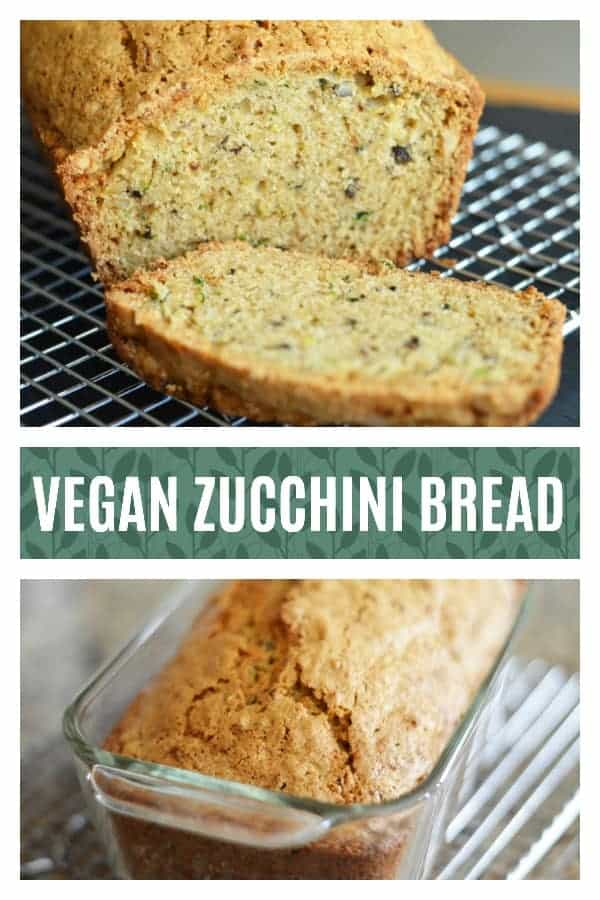 Pinterest Pic for Zucchini Bread Recipe