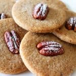 Baked Vegan Pecan Sandies