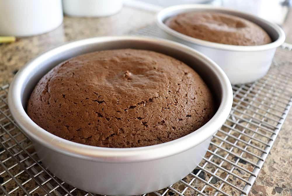 Baked Vegan Chocolate Mayonnaise Cake