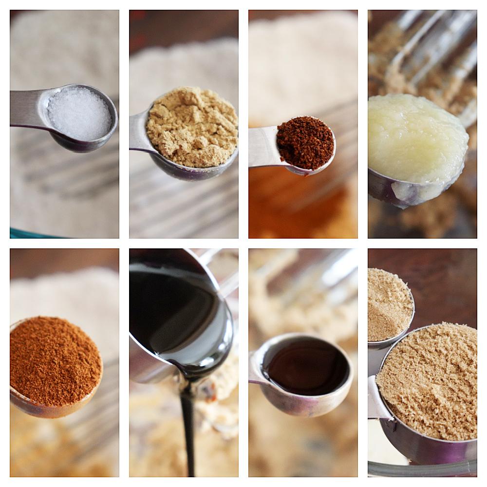 Ingredients for Vegan Gingerbread Cookies (That Won't Spread)