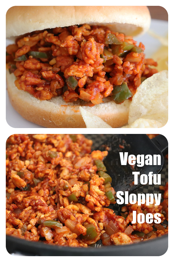 Pin for VEGAN TOFU SLOPPY JOES