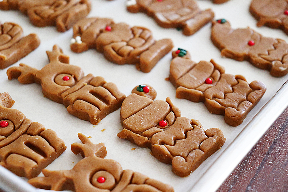 Gingerbread Cookies Ready To Bake