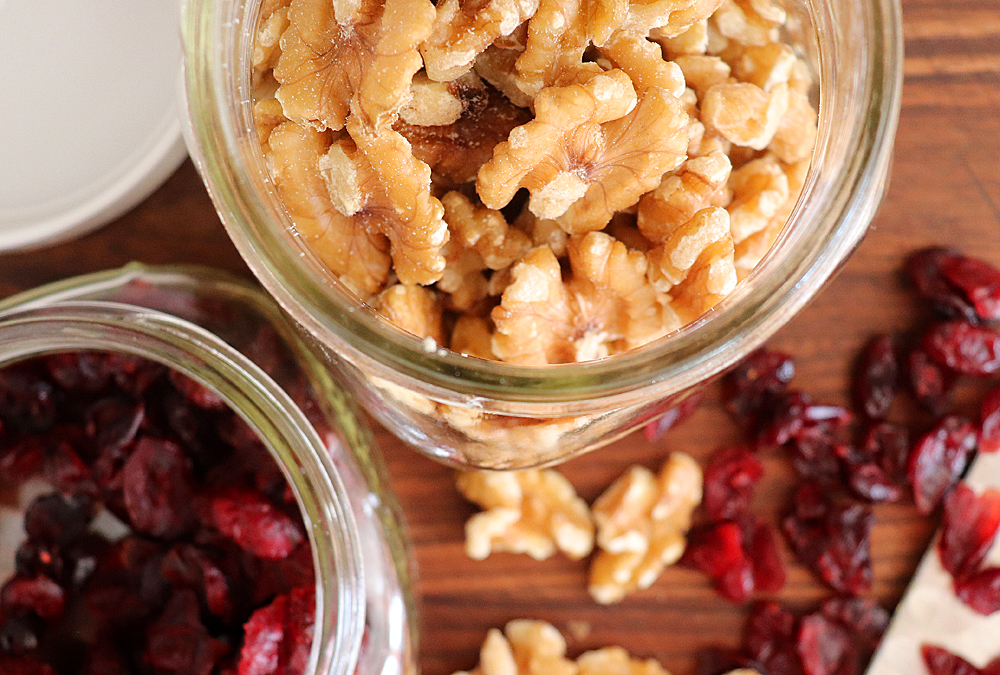 Cranberries and Walnuts