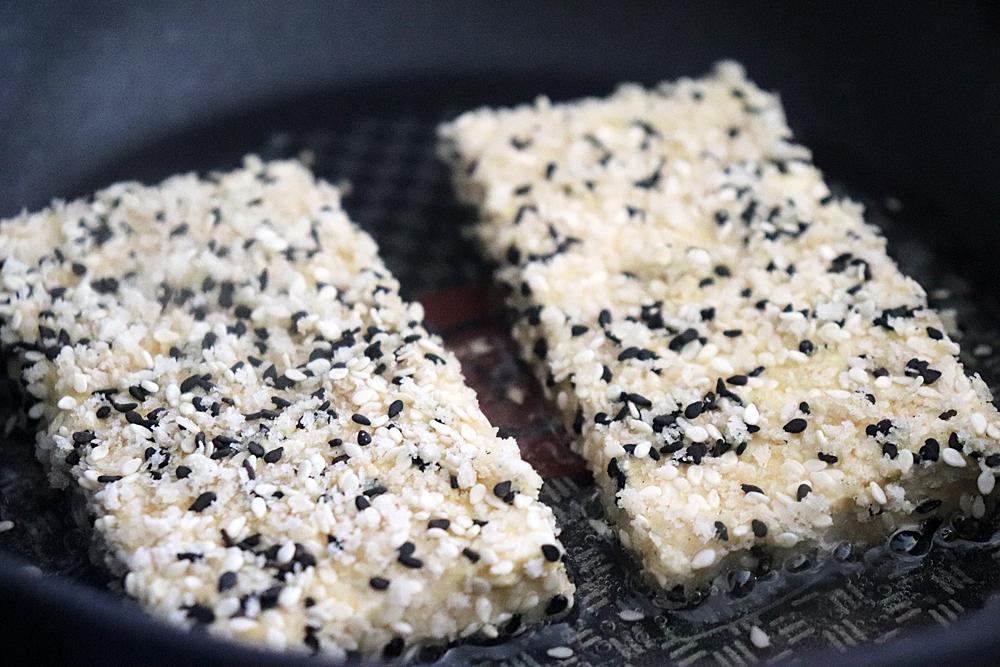 Breaded Tofu Steaks